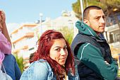 Turkish Couple In Kusadasi
