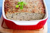 picture of poultry  - homemade poultry pate with mushroom  - JPG