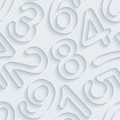 picture of grammar  - White paper with outline extrude effect - JPG
