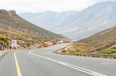 pic of south-western  - Southern end of the Hex River Pass in the Western Cape Province of South Africa - JPG