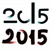 stock photo of character traits  - Happy New Year 2015 - JPG