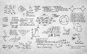 stock photo of formulas  - Formula Mathematics Equation Mathematical Symbol Geometry Information Concept - JPG