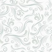 Seamless swirl ornament