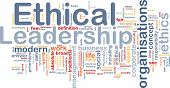 pic of ethics  - Background concept wordcloud illustration of ethical leadership - JPG