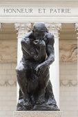 Rodin pensador Honneur Et Patrie
