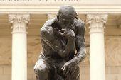 Pensador de Rodin Close-Up