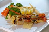 Grilled Chiken With Vegetables