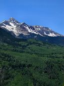 picture of rocky-mountains  - the rocky mountains of Colorado are a beautiful sight in the summer - JPG