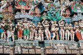 stock photo of chola  - Chola kings  architecture at a south indian temple - JPG