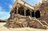 intricate artwork at ancient hindu temple