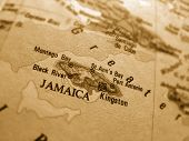 picture of land-mass  - Jamaica - JPG