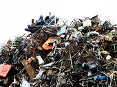 picture of polution  - Scrap yard - JPG