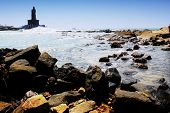 Thiruvalluvar statue at Kanyakumari, the most southern point of india where two oceans come together