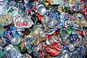 Recycling Used Aluminum Cans