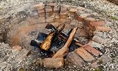 Old Brick Firepit