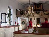 Interior Of Bruton Parish Church