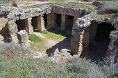 picture of ptolemaic  - Tombs of the Kings Catacombs Paphos Cyprus