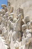 Padrao Dos Descobrimentos (monument Of The Discoveries) Is A Monument On The Bank Of The Tagus River poster