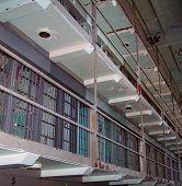 Bloco de células de prisão