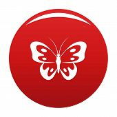 Butterfly In Wildlife Icon. Simple Illustration Of Butterfly In Wildlife Vector Icon For Any Design  poster