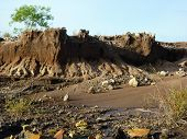 Eroded landscape