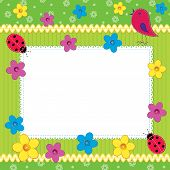 Scrapbook Photo Frame Or Card