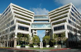 picture of commercial building  - Commercial Office Building in Mixed Used Development in Silicon Valley California - JPG