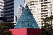 Modern Cone Building