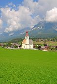 Curso estou Wilden Kaiser, Tirol, Áustria