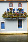 Verdun - House With Flowers On The River
