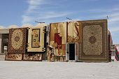 Carpet Trader, Silk Road, Bukhara, Uzbekistan