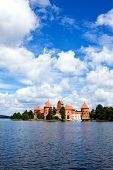 View Of Beautifu Castle Trakai