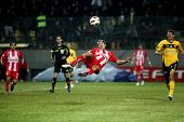 Football Match Between Aris F.c. And Olympiakos F.c.