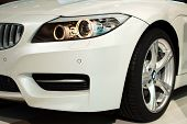 BMW Z4 details closeup
