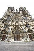 Toul - Cathedral Facade