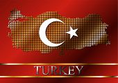 Dotted Turkey Flag