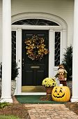 Fall Wreath And Decor