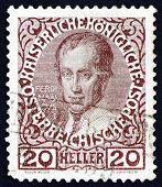 Postage stamp Austria 1913 Ferdinand I, Emperor of Austria
