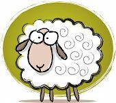 Cute Sheep Sketch