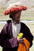 Tibetan Rnying-ma-pa Monk