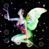 Fairy With Soap Bubbles
