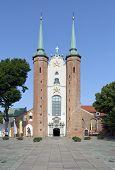 Basílica de la Santísima Trinidad en Gdansk Oliwa, Polonia