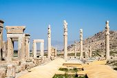 Ruins of ancient Persepolis