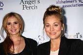 LOS ANGELES - JUL 17:  Ashley Jones, Kaley Cuoco arrives at the