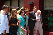 LOS ANGELES - JUL 16:  Bryan Cranston, Family at the Hollywood Walk of Fame Star Ceremony for Bryan