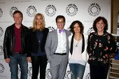 LOS ANGELES - JUL 16:  Don Roos, Lisa Kudrow, Dan Bucatinsky, Sara Gilbert, Lily Tomlin arrives at