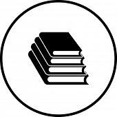 símbolo de libros