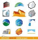 Vector House Icon Project