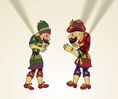 Karagoz, Hacivat, Puppet, Shadow Puppet, Cartoon, Visual Art, Isolated Objects, Arts And Entertainme