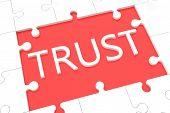 Puzzle Trust Concept